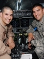 Two service members